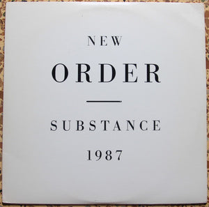 New Order ‎– Substance
