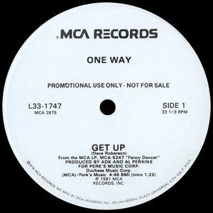 One Way - Get Up/Show Me 12""