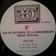 Load image into Gallery viewer, Various / Penn Jillette ‎– Ralph Records 10th Anniversary Radio Special!