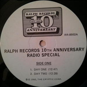 Various / Penn Jillette ‎– Ralph Records 10th Anniversary Radio Special!