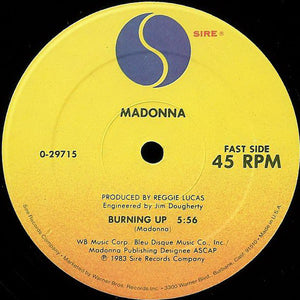 Madonna ‎– Burning Up / Physical Attraction