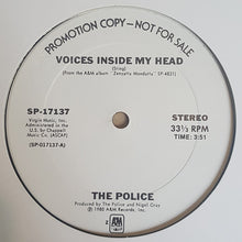 Load image into Gallery viewer, The Police ‎– Voices Inside My Head