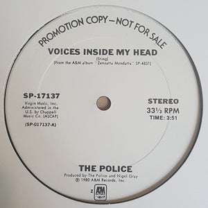 The Police ‎– Voices Inside My Head