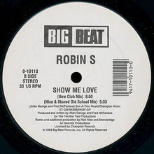 Load image into Gallery viewer, Robin S ‎– Show Me Love