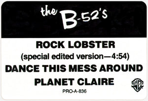 The B-52's ‎– Rock Lobster