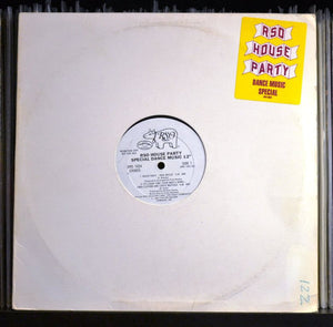 Various ‎– RSO House Party - Special Dance Music 12""