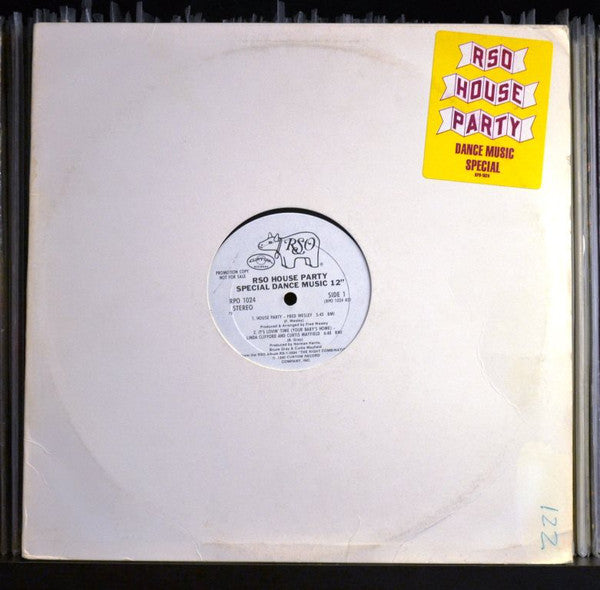Various ‎– RSO House Party - Special Dance Music 12
