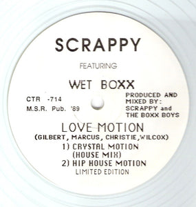 Scrappy Featuring Wet Boxx ‎– Love Motion