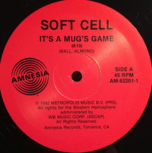 Load image into Gallery viewer, Soft Cell ‎– It's A Mug's Game