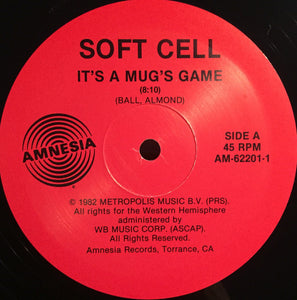 Soft Cell ‎– It's A Mug's Game