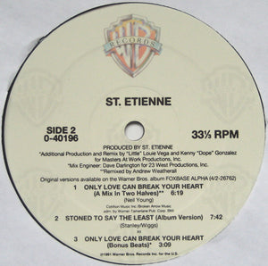 St. Etienne ‎– Only Love Can Break Your Heart