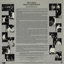 Load image into Gallery viewer, Steve Reich ‎– Music For 18 Musicians