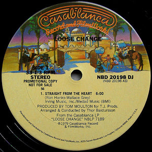 Loose Change - Straight From The Heart 12""