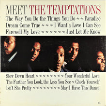Load image into Gallery viewer, The Temptations - Meet the Temptations