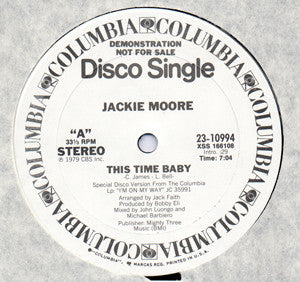 Jackie Moore - This Time Baby 12""