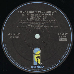 Trevor Horn, Paul Morley, and The Art of Noise - Moments in Love