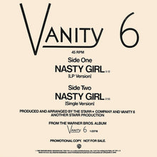 Load image into Gallery viewer, Vanity 6 ‎– Nasty Girl