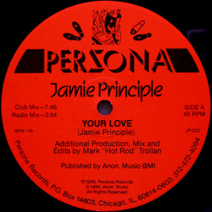 Jamie Principle ‎– Your Love