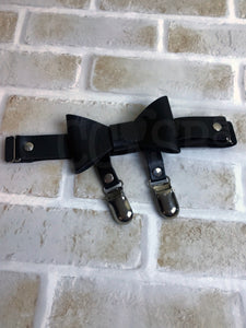 Black Garter with Bow