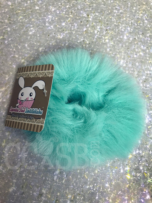 Mint Candy Scrunchie