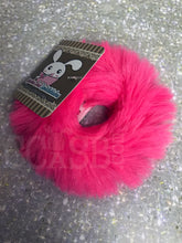 Load image into Gallery viewer, Hot Pink Candy Scrunchie