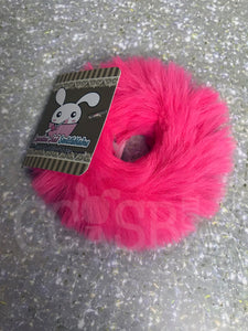 Hot Pink Candy Scrunchie