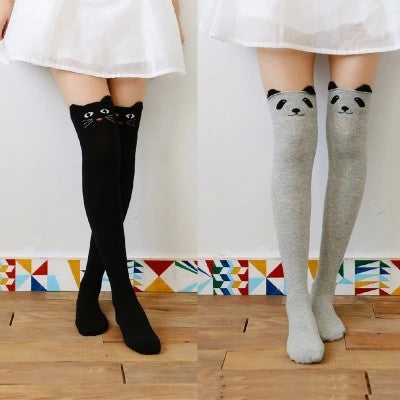 Animal Over The Knee Socks