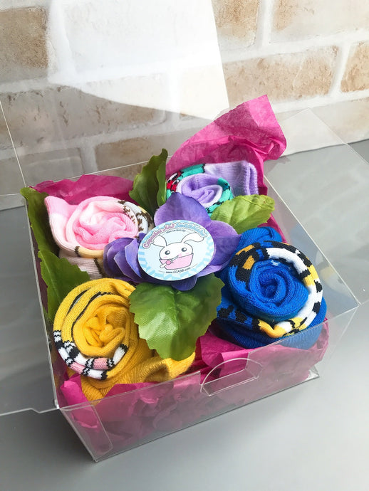 Socks Mytery Gift Box Cute Theme