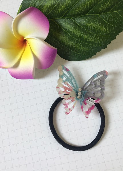 Acrylic Butterfly Hair Tie - Style A