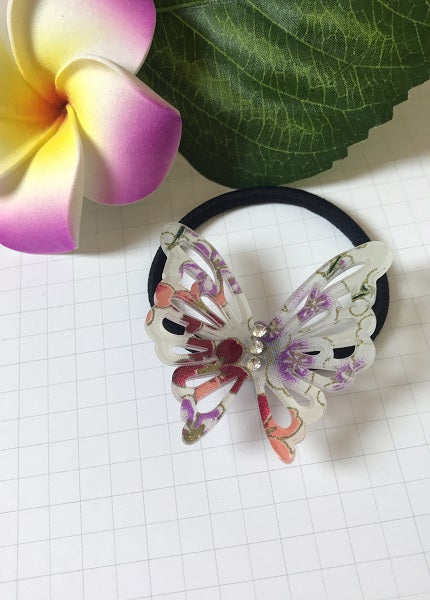 Acrylic Butterfly Hair Tie - Style C