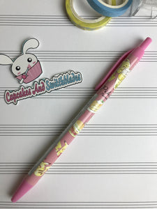 Pikachu Pink Ball Point Pen