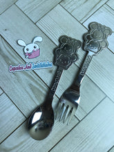 Load image into Gallery viewer, Tsum Tsum Dessert Fork and Spoon Set