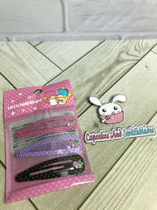 Little Twin Stars Metal Barrette Set