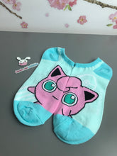 Load image into Gallery viewer, Jigglypuff No-Show Socks