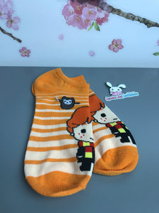 Ron Weasley Chibi Harry Potter No Show Socks