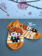 Load image into Gallery viewer, Ron Weasley Chibi Harry Potter No Show Socks