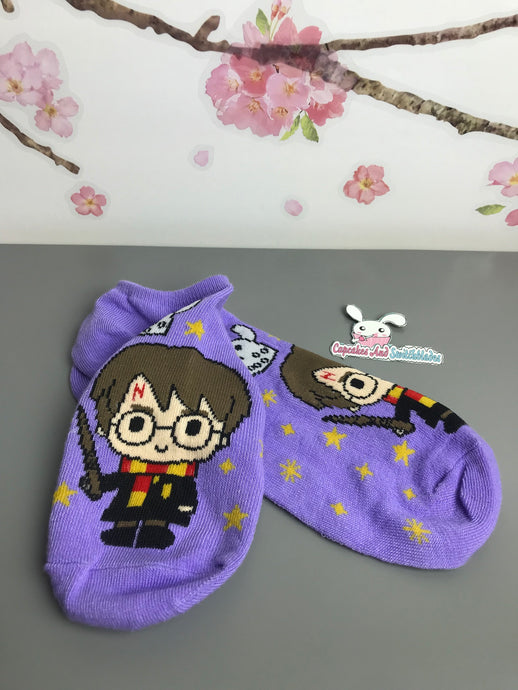 Chibi Harry Potter No Show Socks