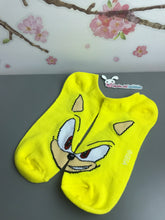 Load image into Gallery viewer, Golden Sonic the Hedgehog No Show Socks - Face