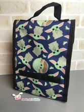 Load image into Gallery viewer, Baby Yoda Lunch Bag - The Child The Mandalorian