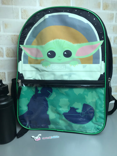 Baby Yoda Backpack - The Child The Mandalorian
