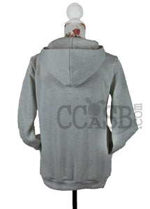 Side Zipper Pull Over Hoodie