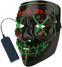 Load image into Gallery viewer, Panzerog LED Halloween Mask