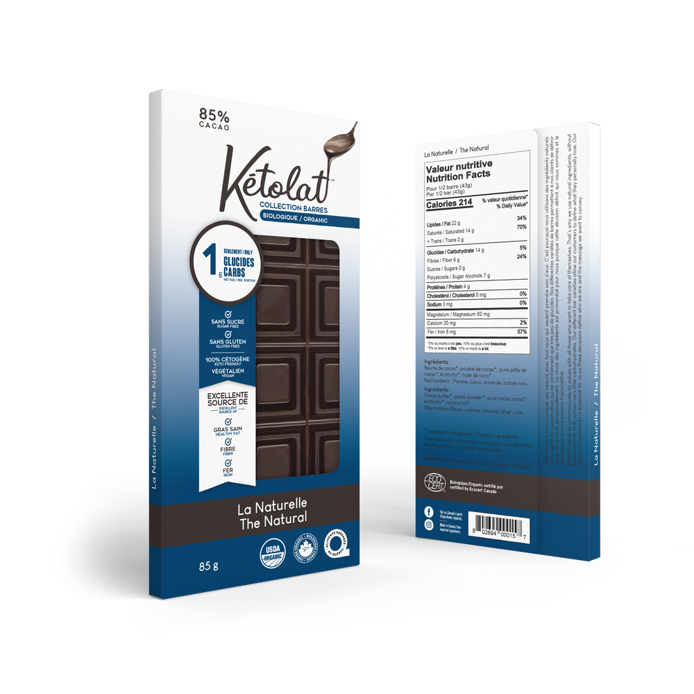 Natural Keto Chocolate Bar