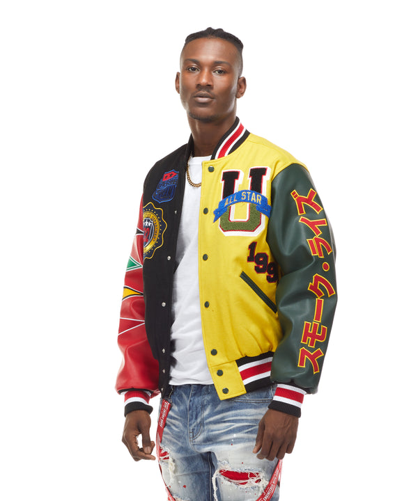 ALL STAR VARSITY JACKET - Smoke Rise Varsity Jacket