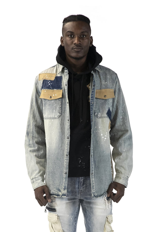 UTILITY DENIM SHIRTS - Smoke Rise Denim