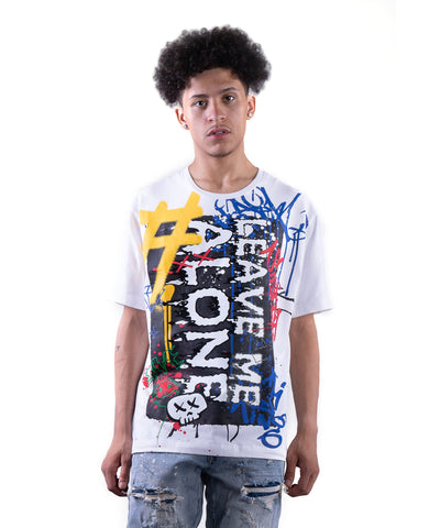 Graffiti Tee - Smoke Rise Varsity Jacket