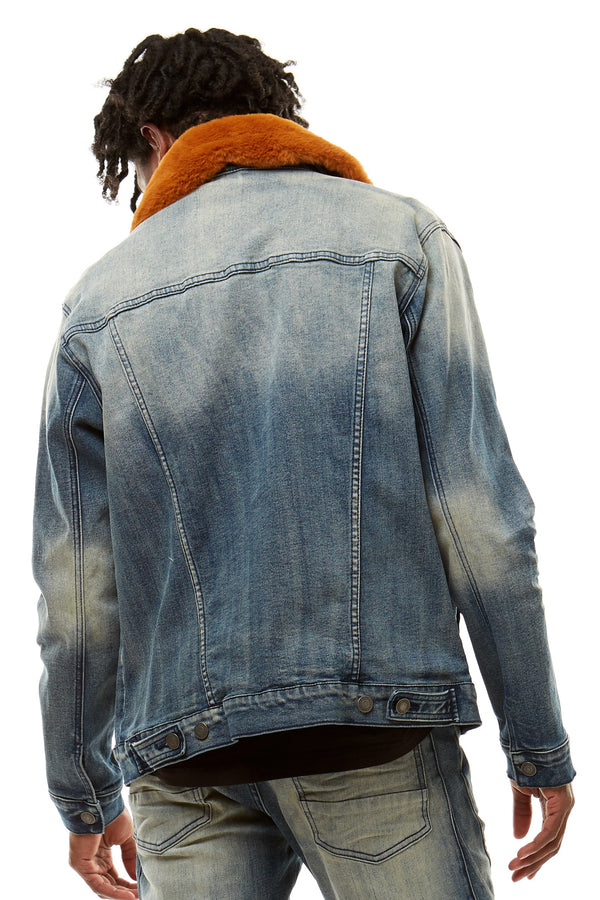 DENIM JACKET - Smoke Rise Denim