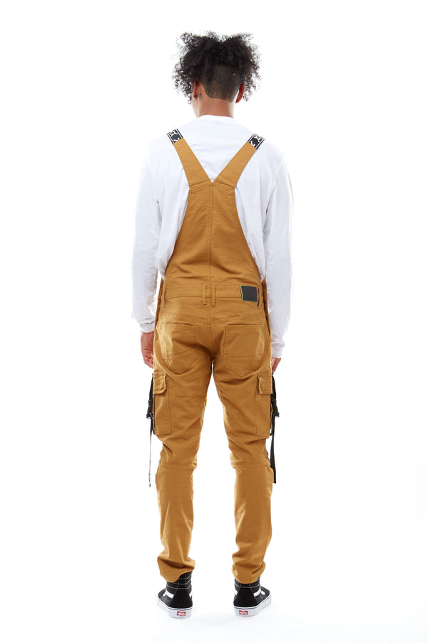 TWILL UTILITY OVERALL - Smoke Rise Denim