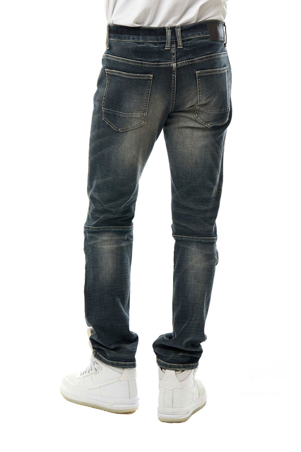 SUPER STRETCH JEANS - Smoke Rise Denim