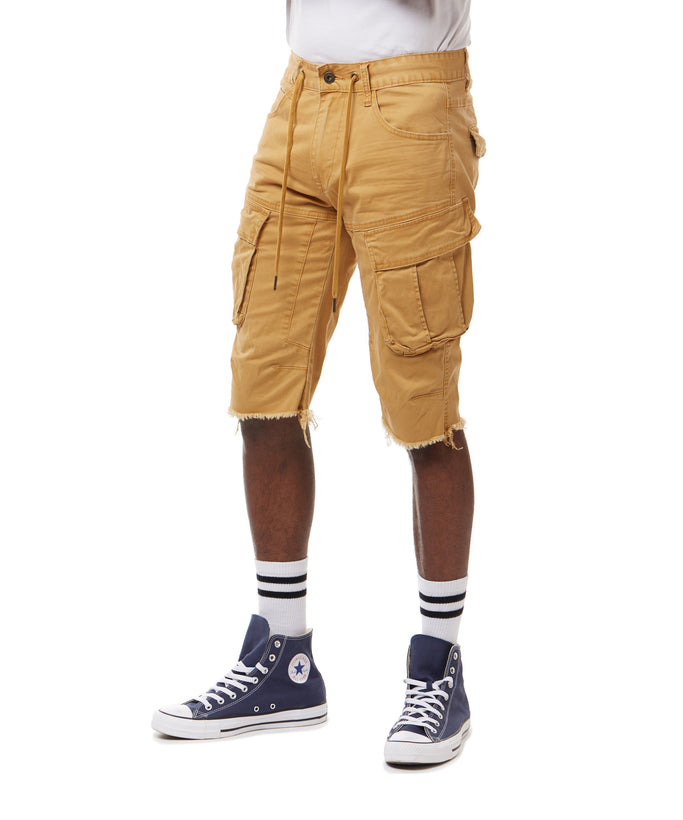 SMOKE RISE CARGO SHORTS - Smoke Rise Denim